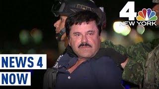 El Chapo Cries in Court As Daughters Visit Alleged Drug Cartel Boss' Trial