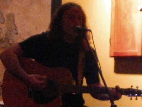 "Robert Vance performs original entitled ""Let You Down"""