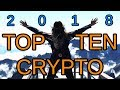TOP 10 SLEEPER CRYPTOS TO BUY IN 2018!