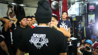 Elik Vs Topis | Seven To Punch 2 | Final | Ultimo Round |