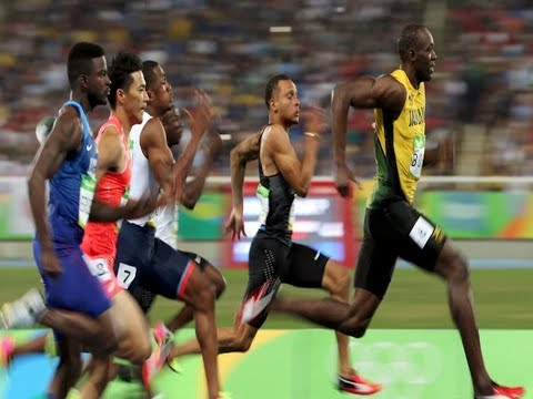 Usain Bolt Wins 100m Final In Time Of 9.81 Seconds - His ...