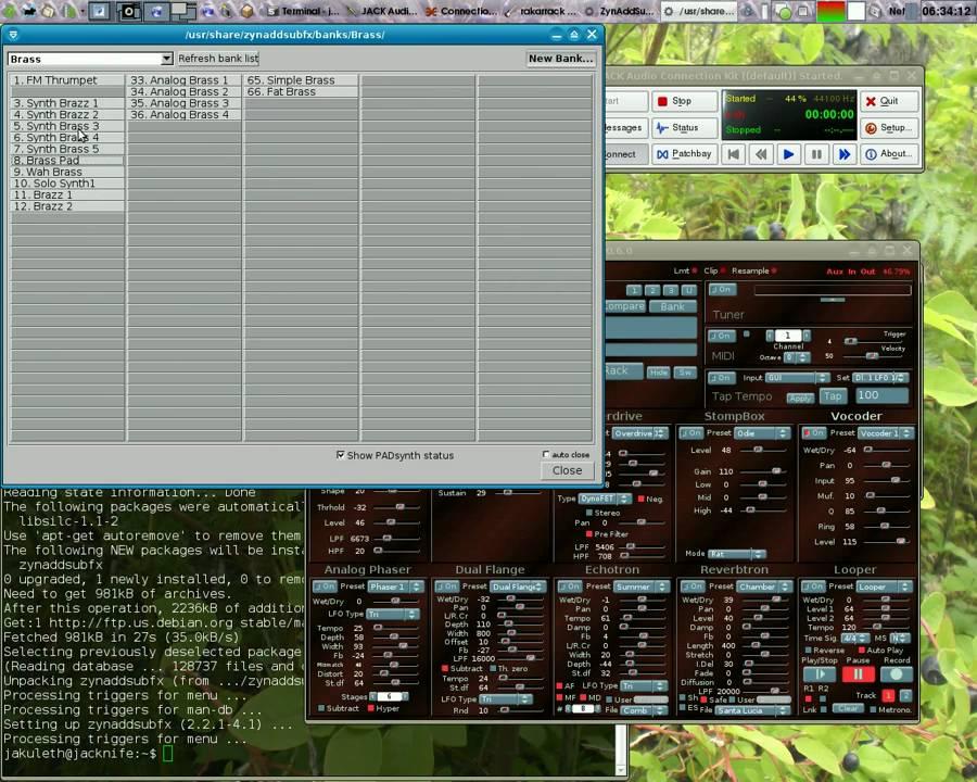 Vocoder (sirlab de) - Le Bottin des Jeux Linux