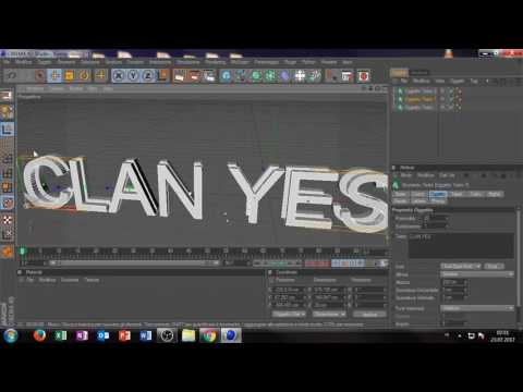COME CREARE UNA INTRO CON CINEMA 4D