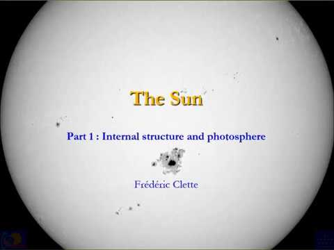 SIDC Series of Lectures on Solar Physics Basics - 01