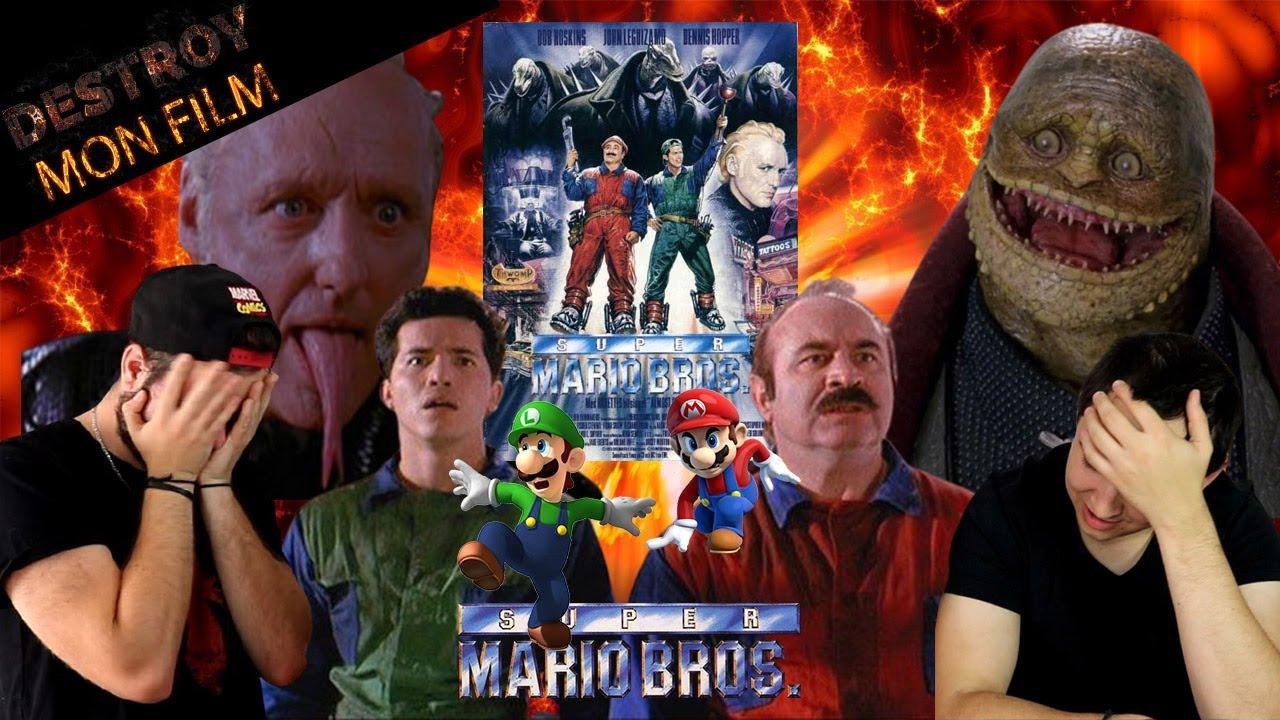 DESTROY MON FILM : SUPER MARIOS BROS. (1993)