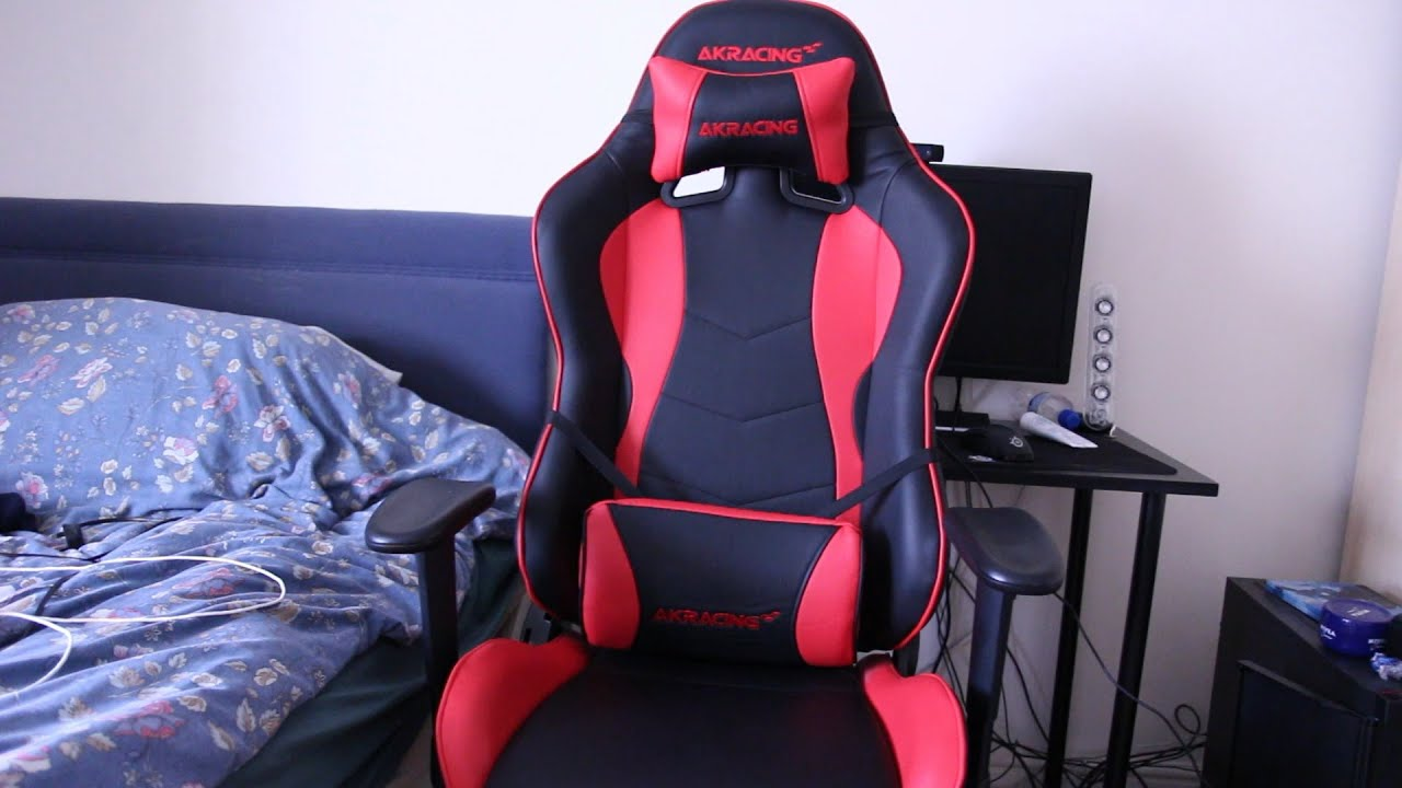 AKRacing Nitro Gaming Chair Review The Best Gaming Chair 2016