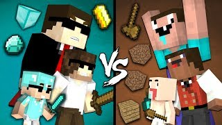 One Hour of Noob vs Pro in Minecraft