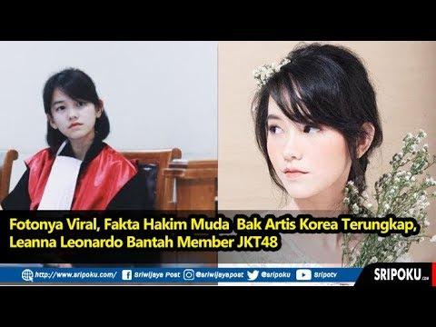 Fotonya Viral, Fakta Hakim Muda Bak Artis Korea Terungkap, Leanna Leonardo Bantah Member JKT48
