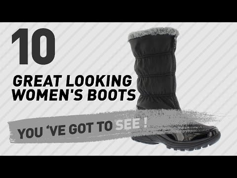 Totes Womens Boots Collection // New & Popular 2017