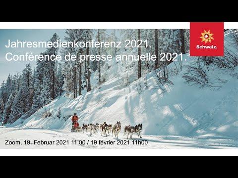 Schweiz Tourismus, Jahresmedienkonferenz / Suisse Tourisme, Conférence de presse annuelle, 19.2.2021