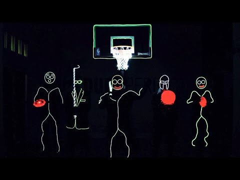 Thumbnail: Glow In The Dark Edition | Dude Perfect
