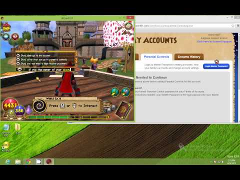 How To Have Open Chat In Wizard101