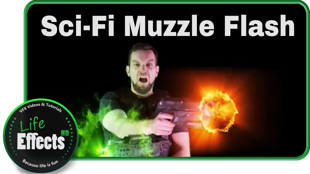 Sci-Fi Muzzle Flash FX | Free Download