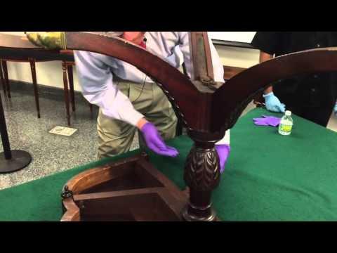 Duncan Phyfe Trick Leg Table