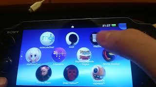 Как закачивать игры на PS Vita Henkaku 3.60