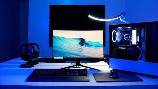 Download lagu My Gaming PC Desk Setup Tour Minimalist PC Gaming Desk Setup Tour MP3