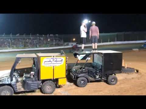 Trey Burke Racing - 105 Speedway SUS Sprints 07.07.19 Feature - infield