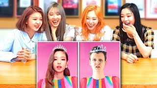 Baixar K-POP IDOLS DREAMCATCHER REACT TO LANKYBOX! (BLACKPINK, BTS, EXO and more!) | K-POP WITH ZERO BUDGET