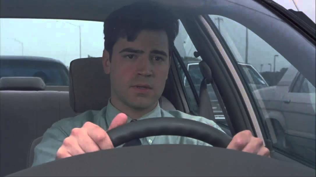 office space traffic opening scene youtube