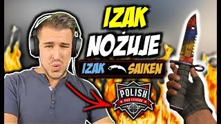 IZAK NOŻUJE W PPL-u !!! TAZ VAC SHOT, POLISH PRO LEAGUE  - CSGO BEST MOMENTS