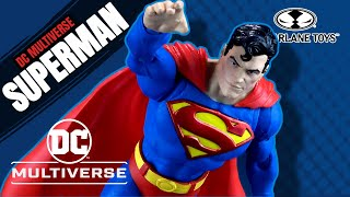 McFarlane Toys DC Multiverse Action Comics #1000 Superman | Video Review ADULT COLLECTIBLE