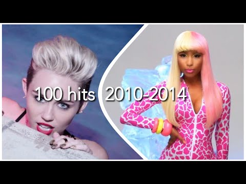 100 HITS FROM 2010-2014