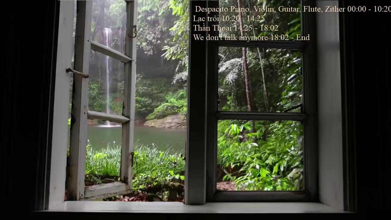 Nhạc Không Lời Nhẹ Nhàng, Cover Despacito Piano, Zither, Guitar #1
