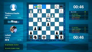 Chess Game Analysis: TodescuVasile - ruhatt : 0-1 (By ChessFriends.com)
