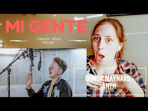 J. Balvin, Willy William - Mi Gente Conor Maynard + Anth REACTION !