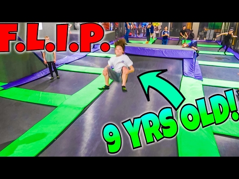GAME OF F.L.I.P. VS INSANE 9 YEAR OLD!