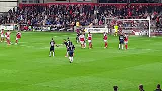 Nile Ranger penalty v Fleetwood 23/9/17