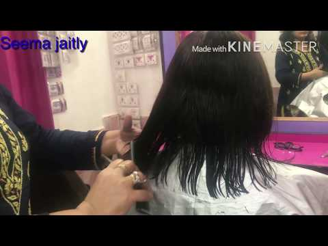 How to change your Personality with Hair Cut/Cut  very Thin & Short hair in Broad Face/ Seema jaitly