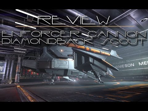 Review of the Enforcer Cannon and the Diamondback Scout ED S3 EP 26