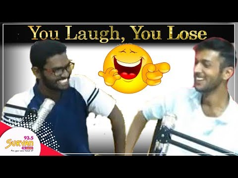 Suryan FM RJs take part in 'You Laugh, You Lose' challenge