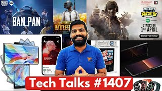 Tech Talks # 1407-Google 프로세서, PUBG 영구 금지, OnePlus 웹캠, Xperia 1 III, Jio Games