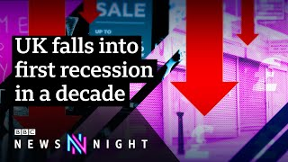How quickly could the UK economy recover from Covid-19? - BBC Newsnight