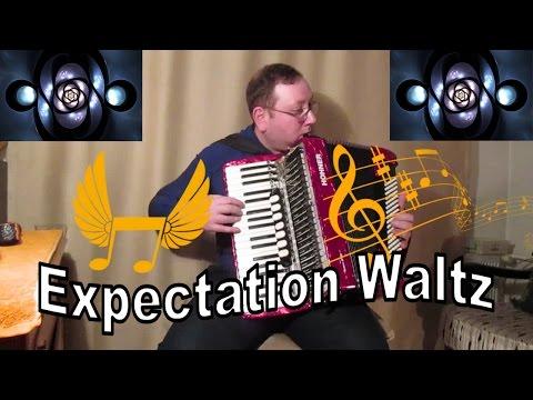 """Expectation Waltz Accordion - Murathan -  Старинный вальс """"Ожидание"""""""