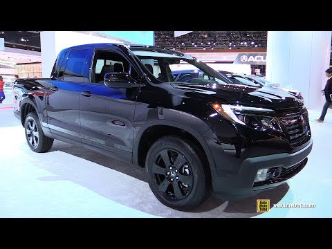 2018 Honda Ridgeline Black Edition - Exterior and Interior Walkaround - 2018 Detroit Auto Show