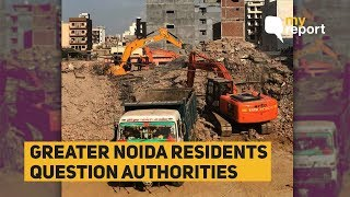 Greater Noida Residents Outrage After Two Buildings Collapse