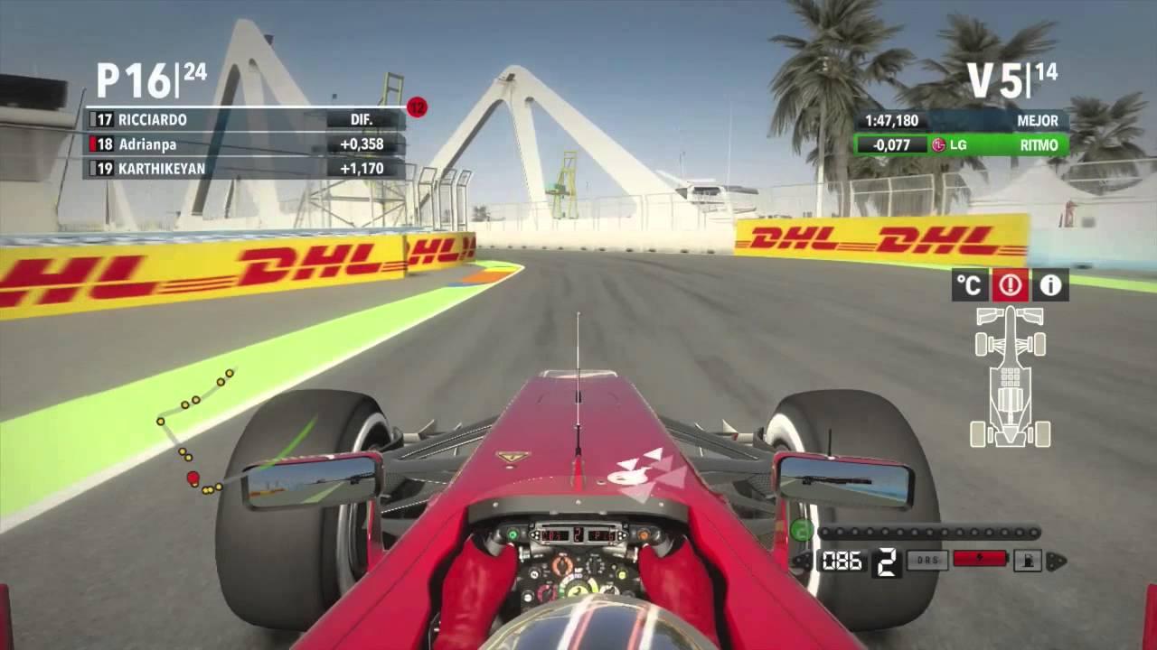Circuito Valencia F1 : Grand prix of europe valencia street circuit formula