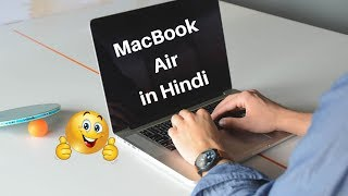 MacBook Air - Unboxing, Setup and First Look in HINDI