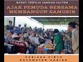 Jumpai Rakyat Hariarapintu, Vandiko Gultom Ajak Pemuda Bersama Bangun Samosir