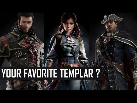 Assassin's Creed - Your favourite Templar ? | All Templars