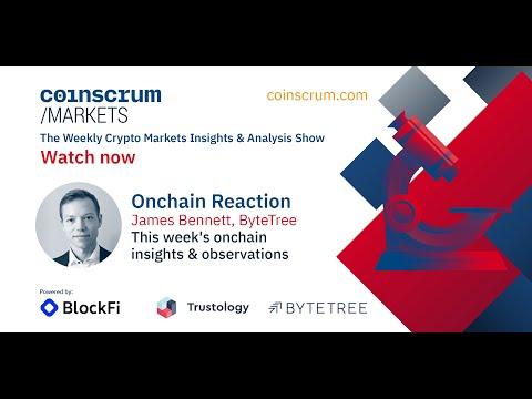 Onchain Reaction w/ ByteTree's James Bennett – Coinscrum Markets, EP032