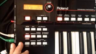 Roland XPS-10 Indian Tone Download Procedure