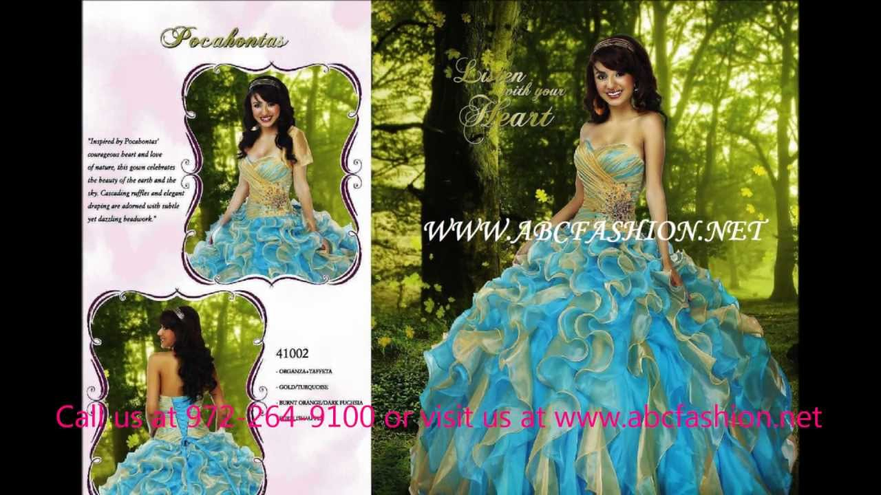 Disney Royal Ball Quinceanera Dress, Prom Dress, Sweet 16 Ball Gown ...