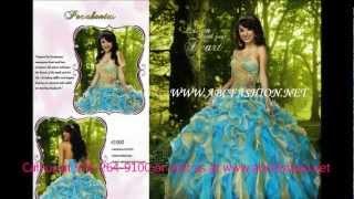 Disney Royal Ball Quinceanera Dress, Prom Dress, Sweet 16 Ball Gown Spring 2013