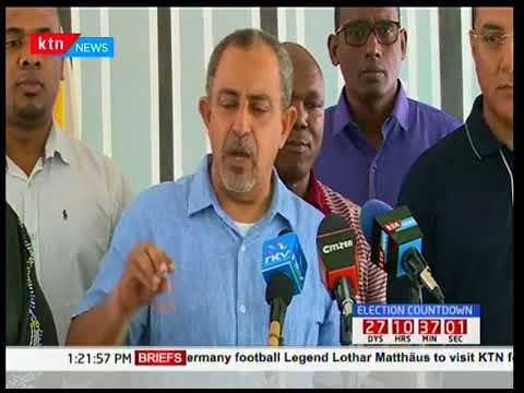 Najib Balala and Suleiman Shabhal deny that there is rift between them