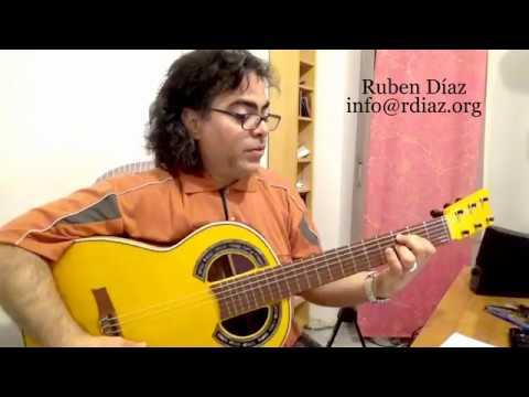 Learn 4 Phrases in Solea por Buleria beat (1) Paco de Lucia´s style / guitar lesson by Ruben Diaz
