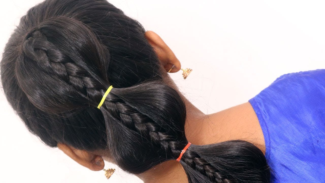 Hairstyle Tutorial For College University Girls For Parties